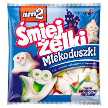 NIMM2 Śmiejżelki Mlekoduszki Żelki owocowe wzbogacone witaminami 90g