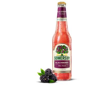 Napój piwny - Somersby Blackberry. Wyjątkowy smak i zapach.