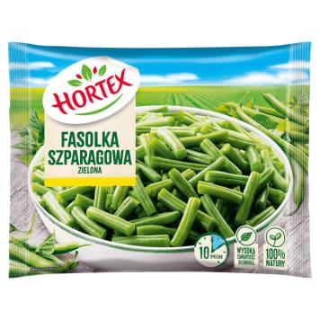 Fasola szparagowa mrożona - Hortex. Niezbędna w codziennej diecie, bogata w błonnik i witaminy.