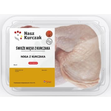 NASZ KURCZAK Noga z kurczaka (352g-528g) 440g