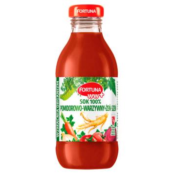 Fortuna WW+ - sok wielowarzywny z żeń szeniem - to, co najlepsze w warzywach