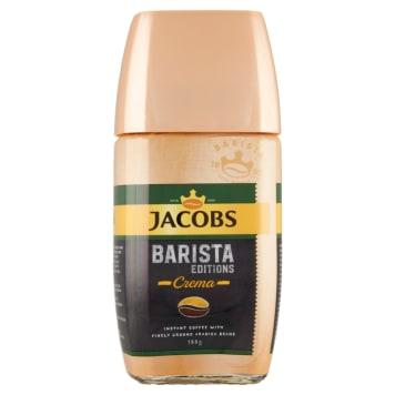 JACOBS Barista Edition Kawa rozpuszczalna oraz zmielone ziarna kawy Crema 155g