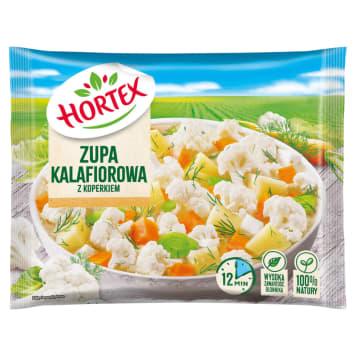 Zupa kalafiorowa z koperkiem - Hortex. Pożywna, rozgrzewająca i wyjątkowo smaczna.