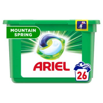 ARIEL MOUNTAIN SPRING Kapsułki do prania białych i jasnych tkanin 26 szt. 1szt