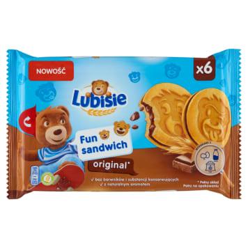 LU Petitki Lubisie FUN SANDWICH Ciastka biszkoptowe z nadzieniem kakaowym 180g