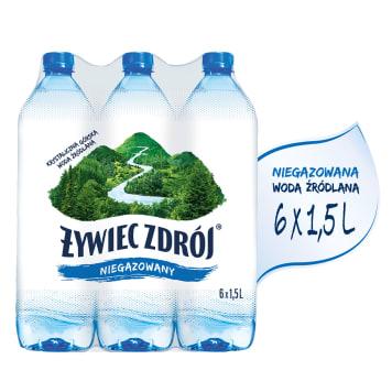 Naturalna woda źródlana niegazowana - Żywiec Zdrój