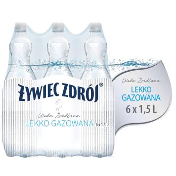 Woda źródlana lekko gazowana - Zywiec Zdrój