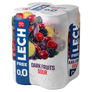 LECH Free Piwo bezalkoholowe Pomelo i Grejpfrut (butelka bezzwrotna) 6x330ml 1.98l