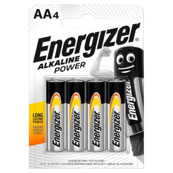 Baterie alkaliczne - Energizer. Idealnie nadają sie do wielu urządzeń codziennego użytku.