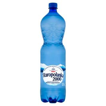 STAROPOLANKA 2000 Woda mineralna wysokozmineralizowana lekko gazowana 1.5l