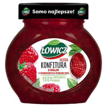 Konfitura z malin 240g - Łowicz