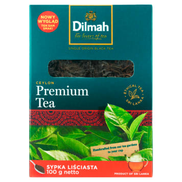 DILMAH Herbata Ceylon Orange Pekoe liściasta 100g