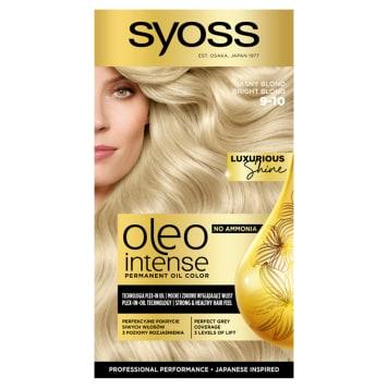 SYOSS Oleo Intense Farba do włosów 9-10 Jasny Blond 50ml