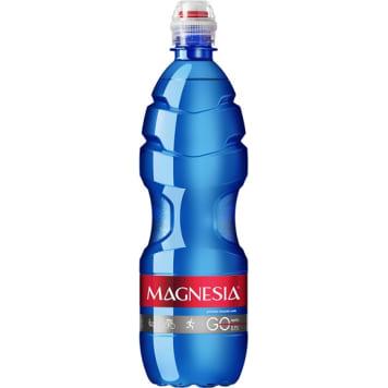 MAGNESIA GO! Naturalna woda mineralna niegazowana średnio zmineralizowana 750ml