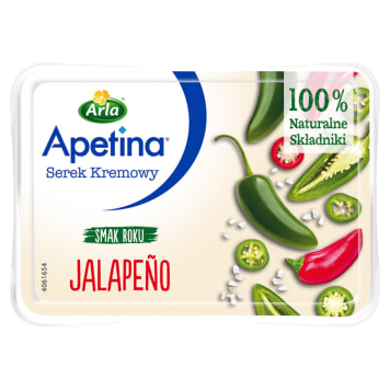 ARLA Apetina Serek kremowy jalapeno 125g