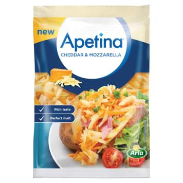 ARLA Apetina Cheddar & Mozarella ser tarty 200g