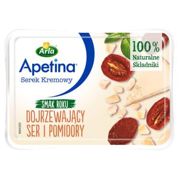 ARLA Apetina Serek kremowy dojrzewający ser i pomidory 125g