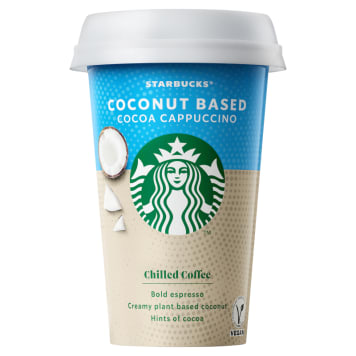 STARBUCKS VEGAN Napój kawowy z mleka kokosowego 220ml