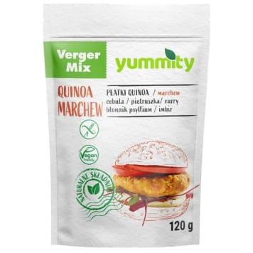 YUMMITY Vege burger marchewkowy 120g