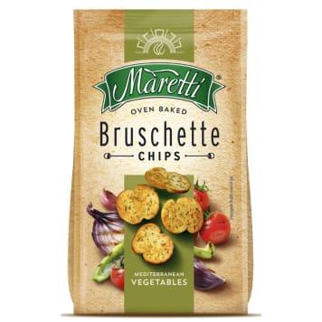 Bruschetta mix warzyw – Maretti to pyszne, wyraziste w smaku grzanki o włoskim charakterze.