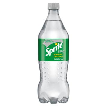 SPRITE Zero Napój gazowany o smaku cytrynowo-limonkowym 850ml