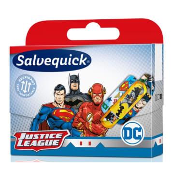 SALVEQUICK Plastery opatrunkowe dla dzieci Justice League 20 szt. 1szt