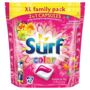 SURF Duokap Kapsułki do prania 2 w 1 Tropikalna lilia i Ylang Ylang 42 szt. 1szt