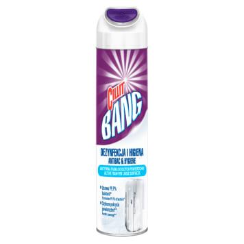 Aktywna piana do czyszczenia - Cillit Bang. Innowacja w czyszczeniu dużych powierzchni łazienkowych.