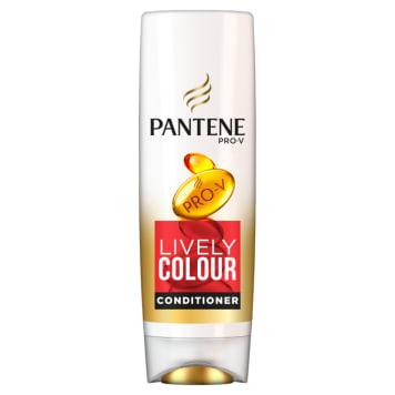 Odżywka Zdrowy kolor Włosy farbowane Pantene Pro-V pomaga przywrócić blask i chroni świeżość koloru.