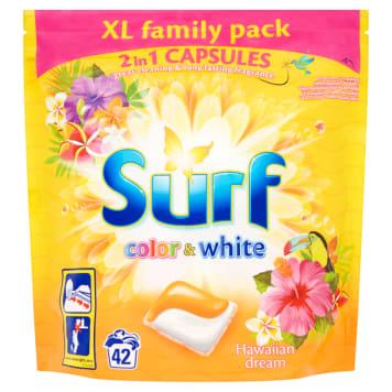 SURF Duokap Kapsułki do prania białego i kolorowego Hawajski Sen 42 szt. 1szt