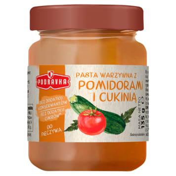 PODRAVKA Pasta warzywna z pomidorami i cukinią 135g