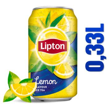 Napój niegazowany 330ml LIPTON ICE TEA. Pyszne, owocowe orzeźwienie