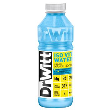DR WITT Vitamin Water Napój o smaku mango i cytryny 550ml