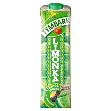 Tymbark Owoce świata Limonka - Napój wieloowocowy. Orzeźwiający napój na upalne dni.