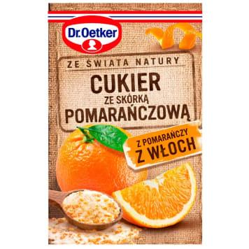 DR. OETKER Ze świata natury Cukier ze skórką pomarańczową z Włoch 15g