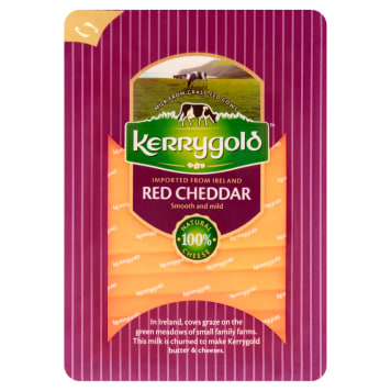 KERRYGOLD Ser cheddar Red, plastry 150g