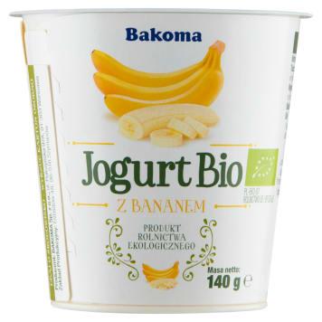 BAKOMA Jogurt Bio banan 140g