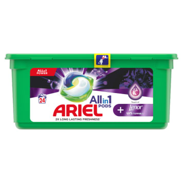 ARIEL Allin1 Pods +Unstoppable Kapsułki do prania tkanin 24 szt. 1szt