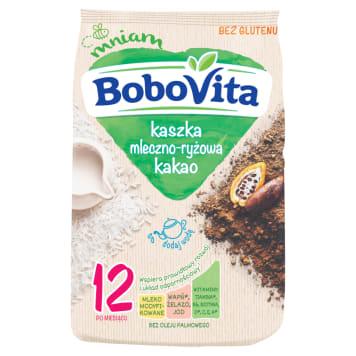 BOBOVITA Kaszka mleczno-ryżowa o smaku kakaowym - po 12 miesiącu 230g