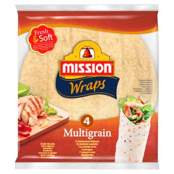 MISSION Wraps multigrain 4x25 245g