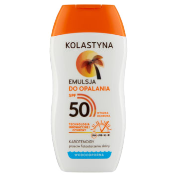 KOLASTYNA SUN Care Emulsja do opalania SPF50 150ml