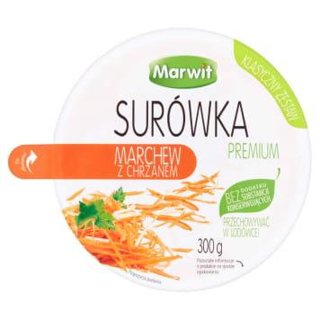 MARWIT Surówka premium marchew z chrzanem 300g