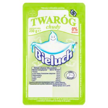 Twaróg chudy - Bieluch. Produkowany wyłącznie z najwyższej jakości mleka.