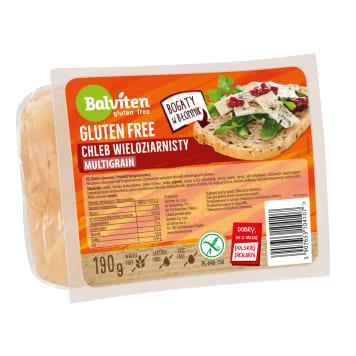 BALVITEN Bezglutenowy chleb kanapkowy z ziarnami 190g