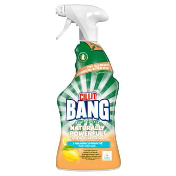 CILLIT BANG Naturally Powerful Spray czyszczący do łazienki z kwaskiem cytrynowym 750ml