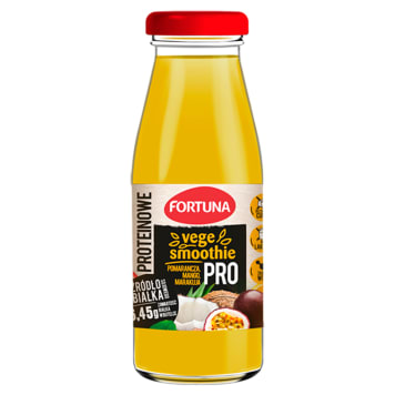 FORTUNA Vege Smoothie proteinowe pomarańcza, mango, marakuja 250ml