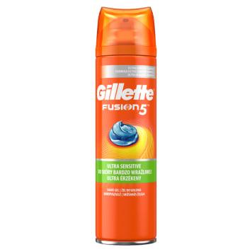 GILLETTE Fusion5 Żel do golenia do skóry wrażliwej 200ml