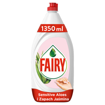 FAIRY Sensitive Płyn do mycia naczyń aloes i jaśmin 1.35 l