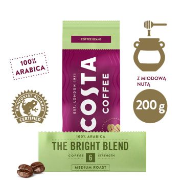 COSTA COFFEE Bright Kawa ziarnista 200g
