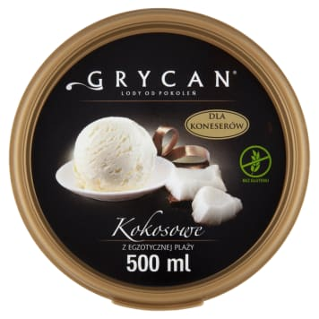 GRYCAN Lody Kokosowe 500ml